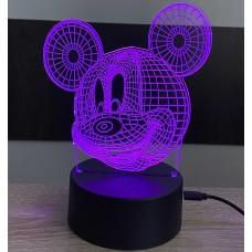 3D stolní lampa DD-056